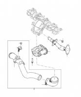 Emission Control Pipes & Hoses From CA000001